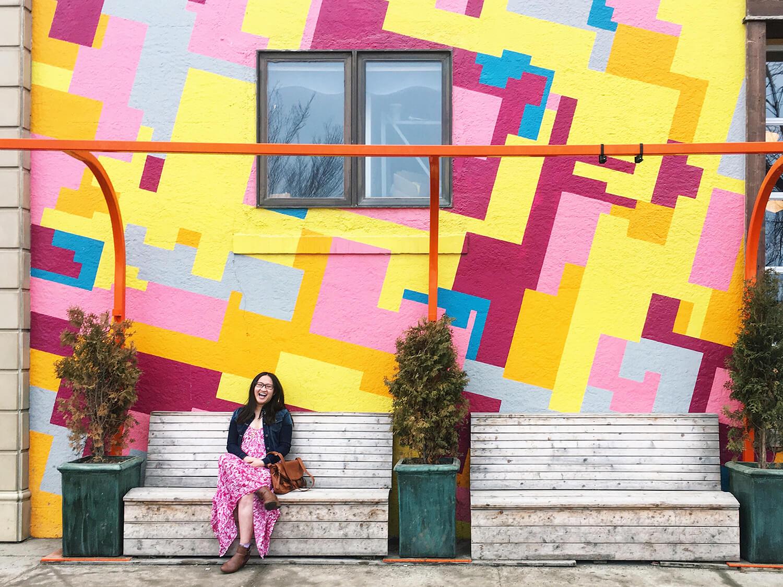 Guide to Instagrammable Walls of Saskatoon - LINDA HOANG | EDMONTON BLOG