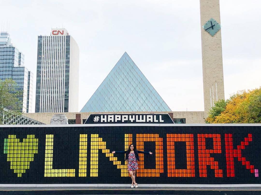 Instagrammable Walls of Edmonton Downtown Photo Walk Explore Edmonton