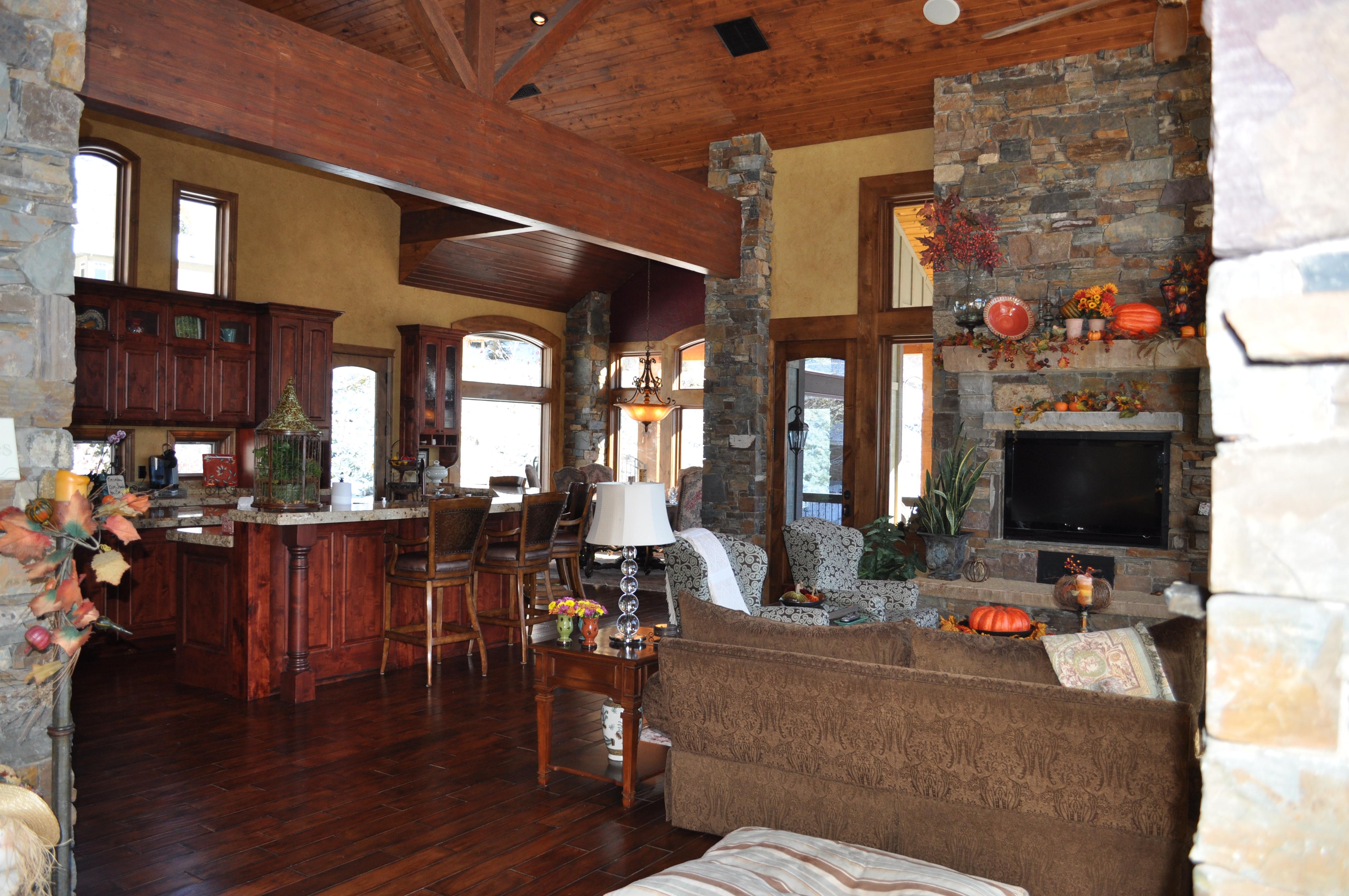 A Great Room- Open Floor Plan