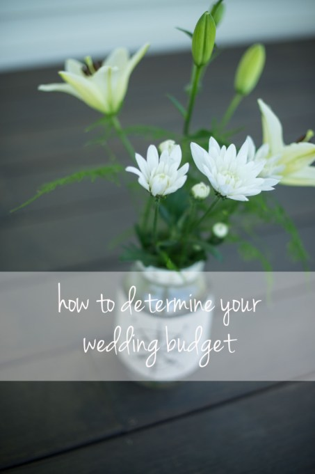 how to determine your wedding budget, wedding planning