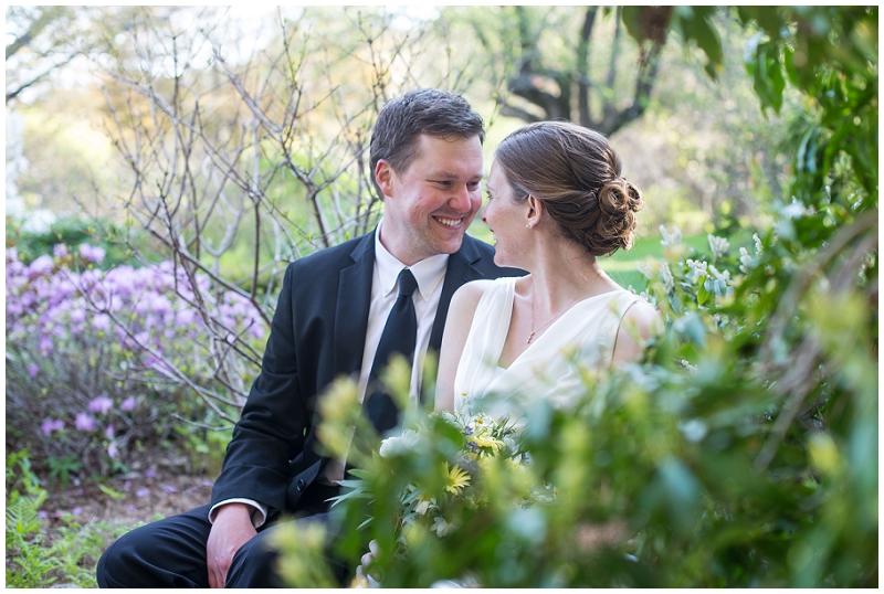 intimate wedding, bar harbor, asticou gardens