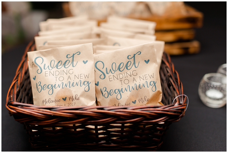 Melanie and Mike were married at Clay Hill Farm in Cape Neddick Maine. Click here to see more beautiful photos by Linda Barry Photography of their burgandy and navy wedding day! Wedding favors.