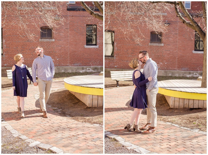 Landon surprised Rebecca during their Old Port mini session and PROPOSED! The sweetest surprise proposal by Linda Barry Photography is on the blog!