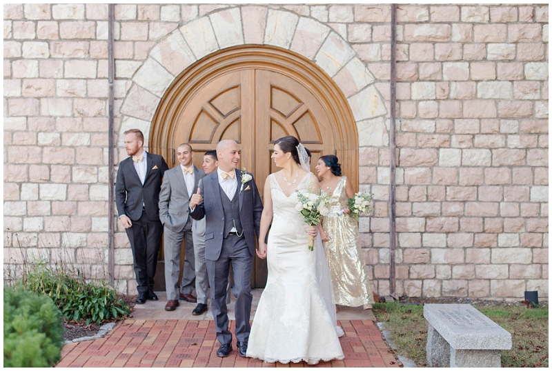 Kathleen and Mike were married in Hanover, MA at St. Mary of the Sacred Heart. See more of their wedding photos by Linda Barry Photography.