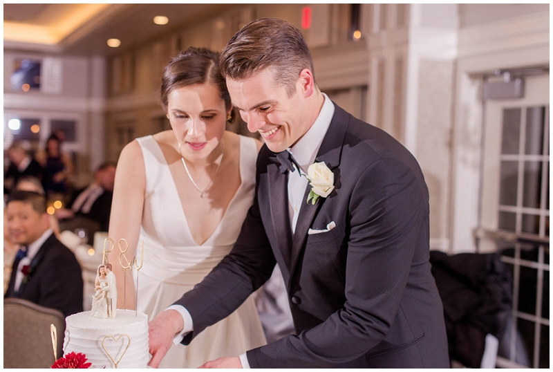Jack and Becca were married at Sacred Heart Catholic Church in Yarmouth, Maine. Did their portraits at the Cumberland Club in Portland, and had their reception at the Woodlands Club in Falmouth! Despite the relentless rain, it was still a kick-ass day!