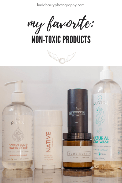 top five non-toxic products to use in your home!
