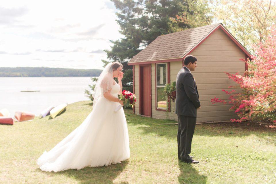 Ashley and Nikko's emotional first look at Lake Alamoosook!