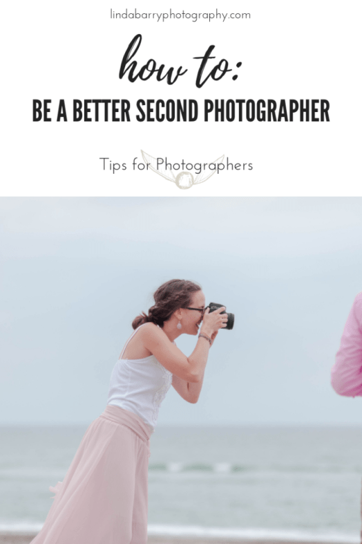 9 Tips on how to be a better second shooter on a wedding day! By Linda Barry Photography, a Boston based wedding photographer.