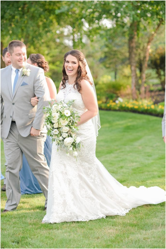 Christina is a such a beautiful and joyful bride!
