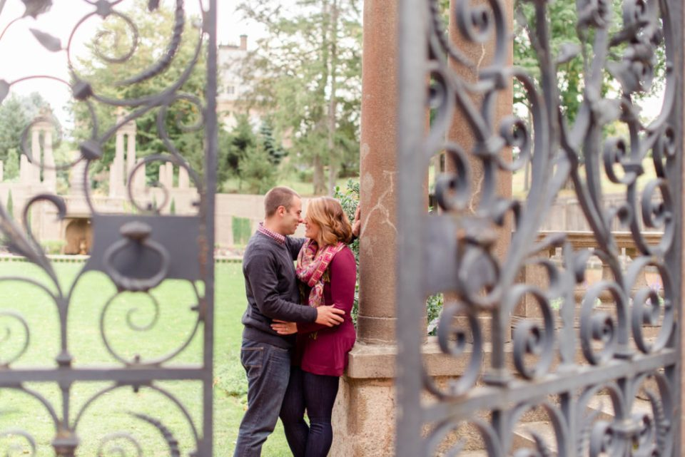 The best spots in  New England for engagement photos, photo taken at the Crane Estate!