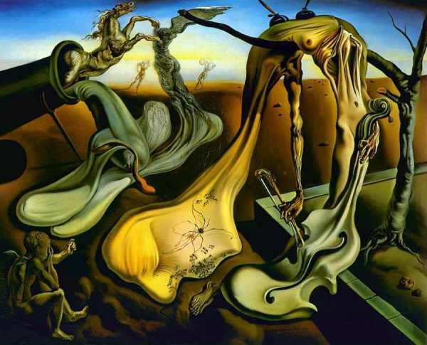 """Salvador Dalí, """"Daddy Longlegs of the Evening – Hope! """" (1940)"""