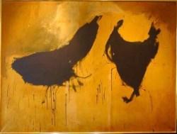 "Robert Motherwell, ""Two Figures"" (1958)"