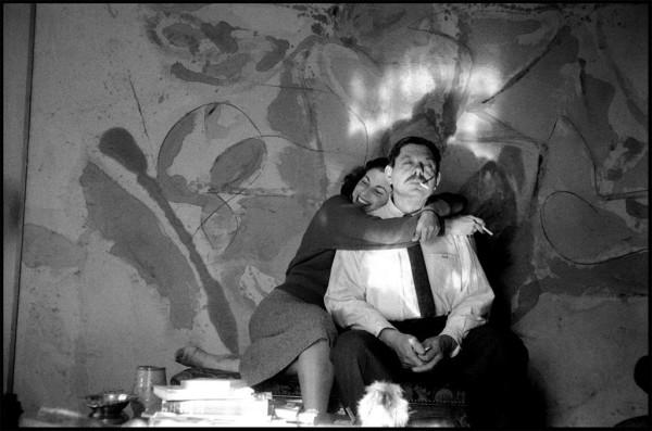 Helen Frankenthaler and Robert Motherwell