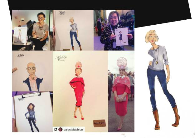 Live sketching, events, fashion event, fashion illustration, illustration, sketching, linda byrne, Dublin