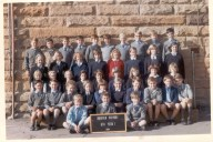 1964 6th Class Mosman Primary. Mosman's first co-ed year. Self: Middle row 1st lft