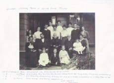 1906. WBC (aged 73) and Elizabeth's ( aged 64 )Golden Wedding Anniversary.