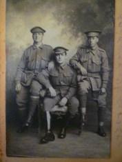 The Elvins grandsons.Sent by Jack Elvins. Feb 27 1917. He gets killed in action in Belgium September 1917
