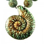 green-turquoise-shaped-fossil-african-turquoise-detail