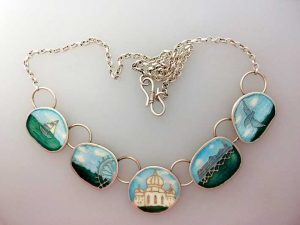 Map of Memories Necklace - Brighton