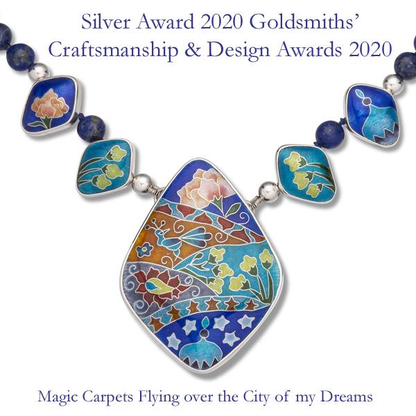 Magic Carpets Flying over the City of my Dreams Silver Award 2020 Goldsmiths'Craftsmanship & Design Awards