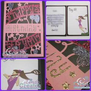 Cricut Design Space Birthday Card Collage Linda Creates ~ Linda Caler www.lindacreates.com www.lindacreates.ctmh.com
