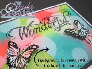Wonderful - MM400 Bokeh Technique Linda Creates ~ Linda Caler www.lindacreates.com
