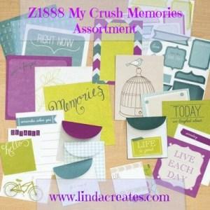 My Crush Bluebird Book Summer Crush Close to My Heart Linda Creates ~ Linda Caler www.lindacreates.com