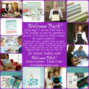 Linda Correct Welcome Back Collage