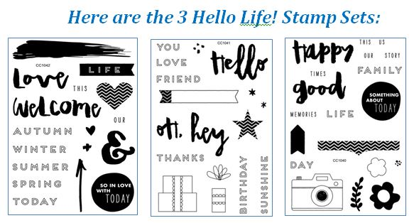 Hello Life Stamp Images