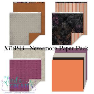 Z7198B Nevermore Paper Pack wm