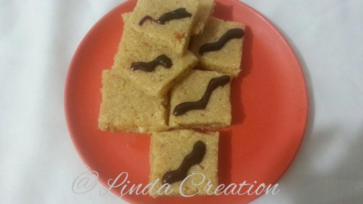 Coconut Dulce de leche Burfi (Fudge)