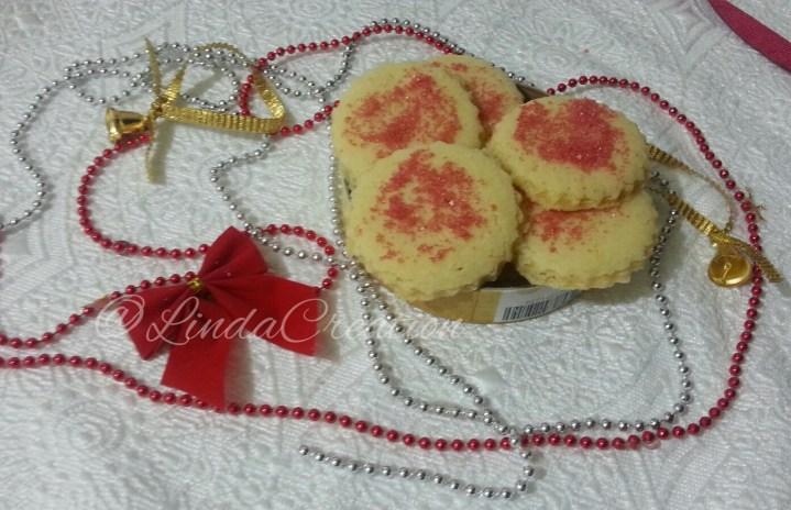 Red Crystal Sugar Cookies