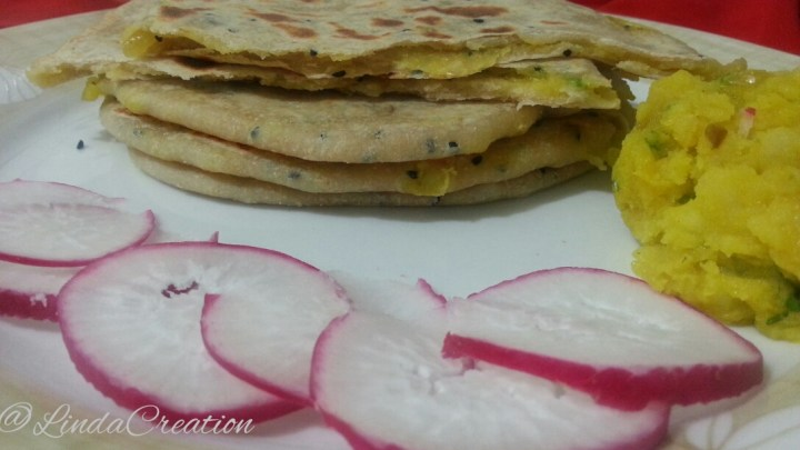 Potatoes Flat Bread with Cuppa Coffee