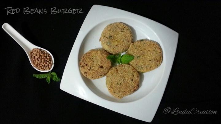 Red Bean Burger / Cutlets / Tikki