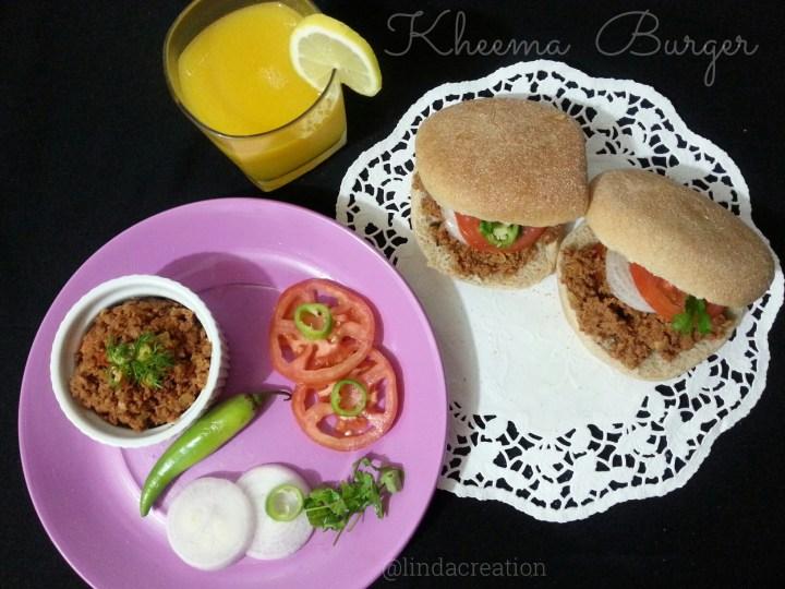 Kheema Burger