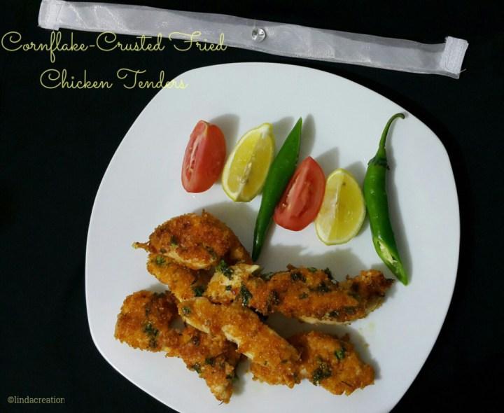 Cornflake Crusted Fried Chicken Tenders