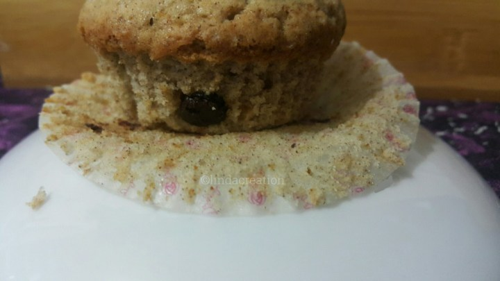 RAGI / FINGERS MILLET & CHOCOLATE CHIPS CUPCAKES