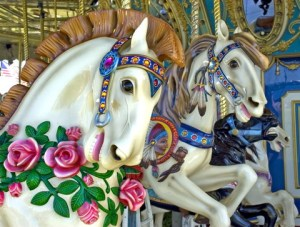 Merry-Go-Round in GUIDED, by Linda Deir