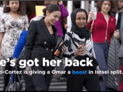 """The Latest on the fallout from Minnesota Democratic Rep. Ilhan Omar's most recent comments on Israel (all times local): 3:05 p.m. Senate Majority Leader Mitch McConnell says he finds rising anti-Israel sentiments """"disturbing,"""" including by """"some of the new members of the House of Representatives."""" The Kentucky Republican was asked Tuesday about freshman Rep. Ilhan Omar's comment last week that suggested Israel's supporters are pushing lawmakers to pledge """"allegiance"""" to the Jewish state. In response, House Democrats are expected this week to present a resolution condemning anti-Semitism. McConnell noted that the Senate last month passed a provision that would let states penalize businesses that take part in boycotts or divestments of Israel. Omar is a supporter of the Boycott, Divestment, Sanctions movement that promotes various forms of boycotts against Israel. McConnell says the BDS movement """"is a clear example of rising anti-Israel sentiment in our country which is very disturbing and that's been underscored by comments of some of the new members of the House of Representatives."""" ___ 12:50 p.m. Rep. Alexandria Ocasio-Cortez is giving a fellow freshman a boost in the party's increasingly bitter split over Israel. The New York Democrat tweeted Tuesday about her party's leaders and their plan to rebuke Rep. Ilhan Omar for suggesting that supporters of Israel pledge """"allegiance to a foreign country."""" The House is expected to vote on a resolution condemning anti-Semitism on Wednesday. Ocasio-Cortez tweeted, """"No one seeks this level of reprimand when members make statements about Latinx + other communities."""" Omar, a Minnesota Democrat, has apologized for previous comments about Israel, but she's not apologizing for the statement that reminded many members of Congress of a Jewish trope about having split loyalties. Republicans have demanded that she be stripped of her seat on the House Foreign Affairs Committee. ___ 8:20 a.m. President Donald Trump says Democrat Rep. Il"""