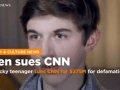 CNN hit with $275 million defamation suit by Kentucky student