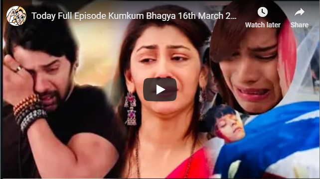 Today Full Episode Kumkum Bhagya Twist of Fate 16th March 2019