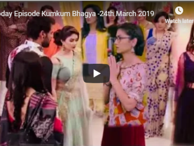 Today Episode Kumkum Bhagya Twist of Fate-24th March 2019