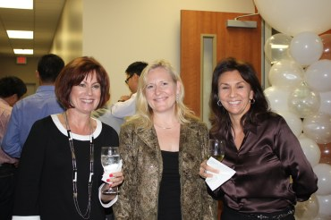 Dr. Glessner with Stacy McCracken and Sandra Losoya at the grand opening of PLACH.