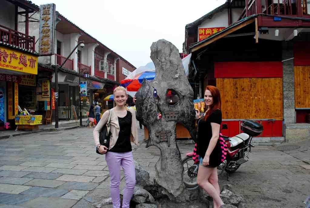 My friend Vanessa and I in Yangshuo