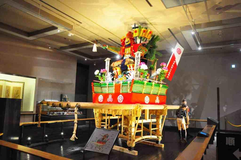 Yamakasa festival float
