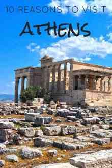 10 Reasons to Visit Athens | Linda Goes East
