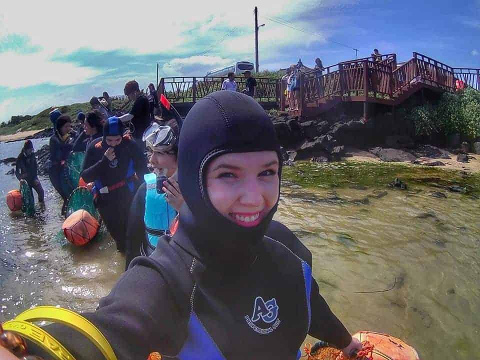 Jeju Island Female Divers 'Haenyeo'