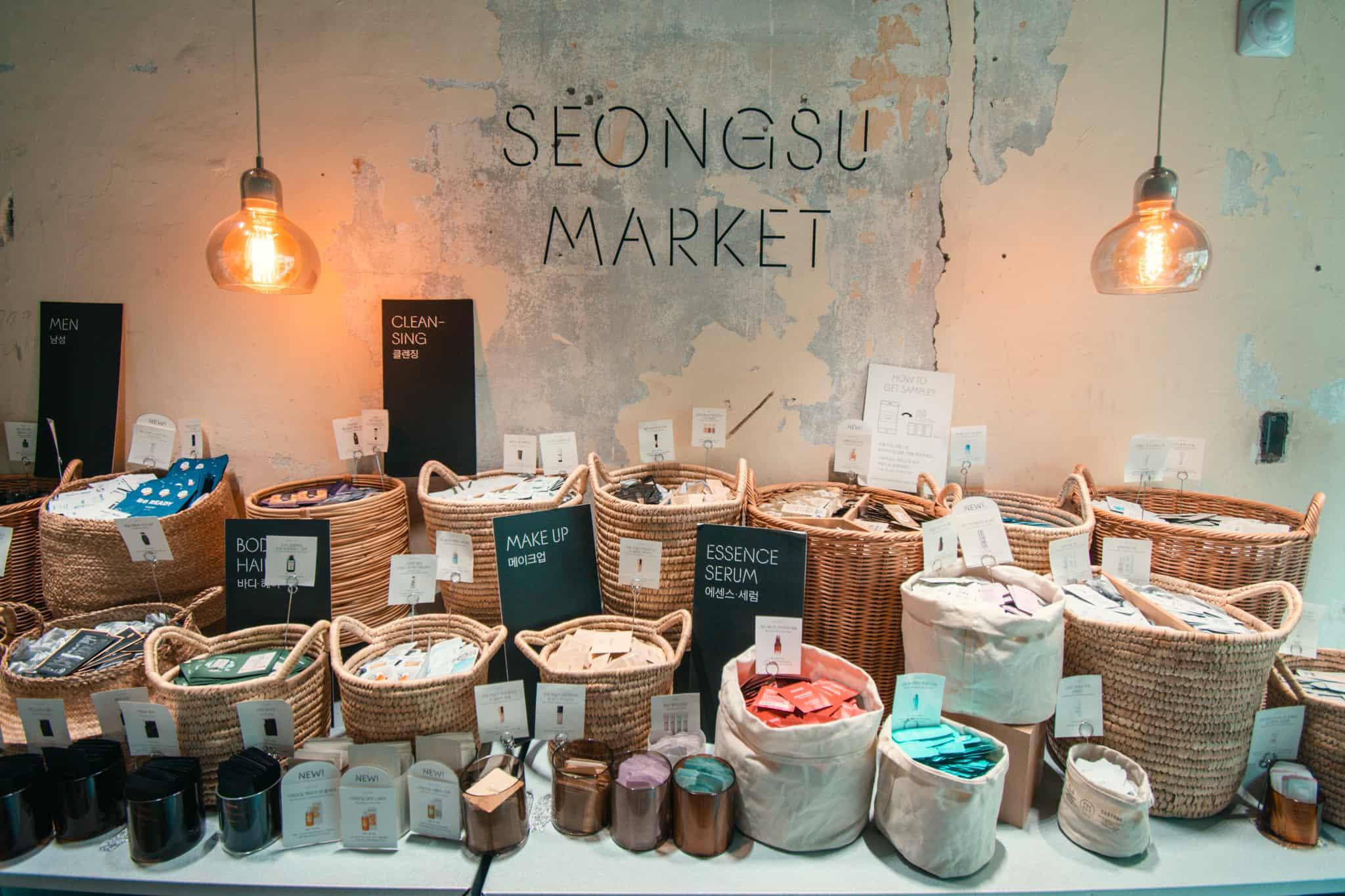 Seongsu Market