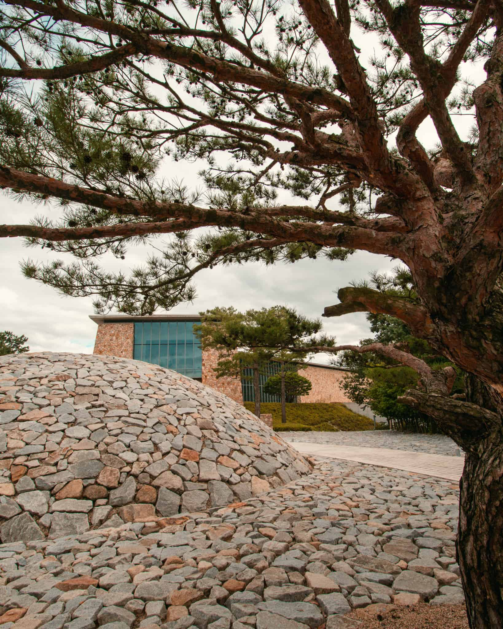 Museum SAN Stone Garden