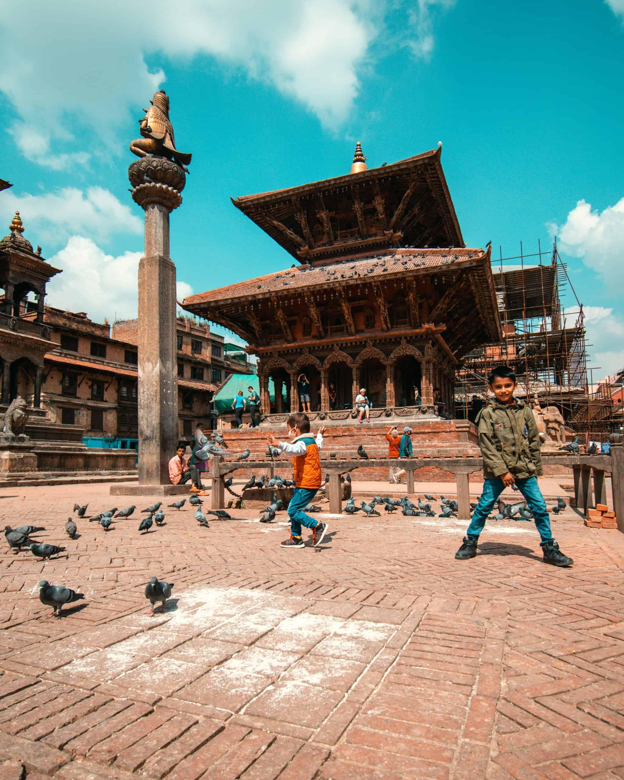 Children Playing in Kathmandu Travel Tips